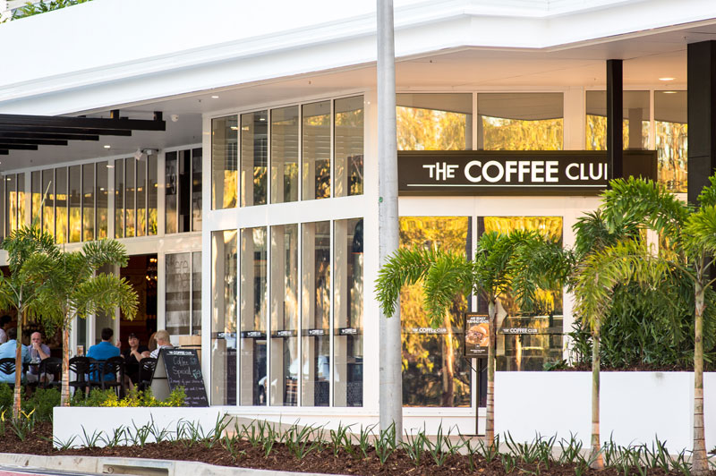 the coffee club near the empire apartments rockhampton